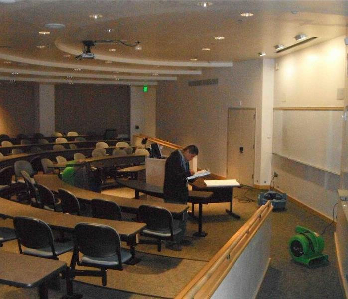 Major Water Damage - Portland State University After