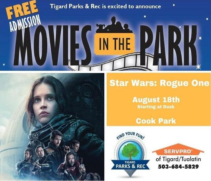 Movies in the Park- Star Wars: Rogue One