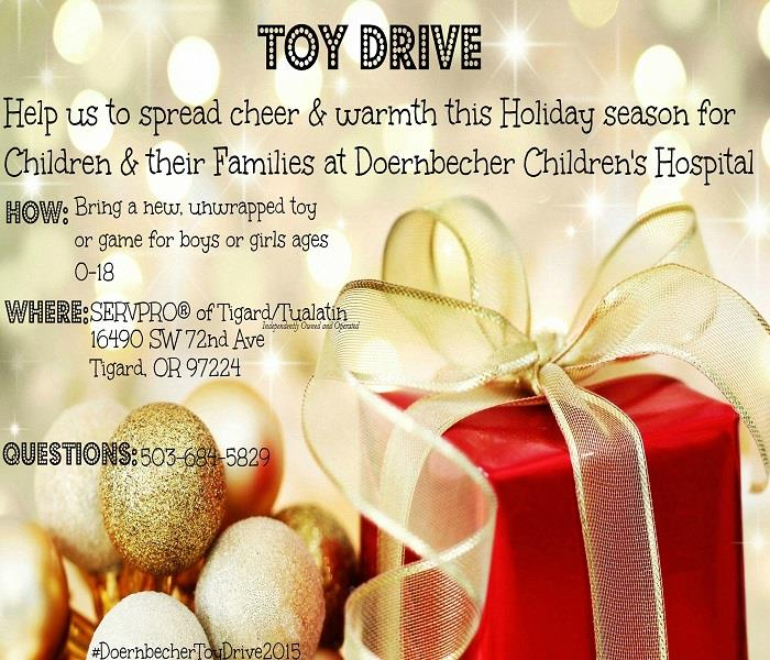 Doernbecher Children's Hospital Toy Drive