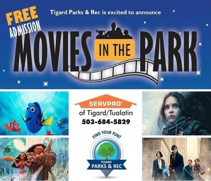 Movies in the Park with Tigard Parks & Rec