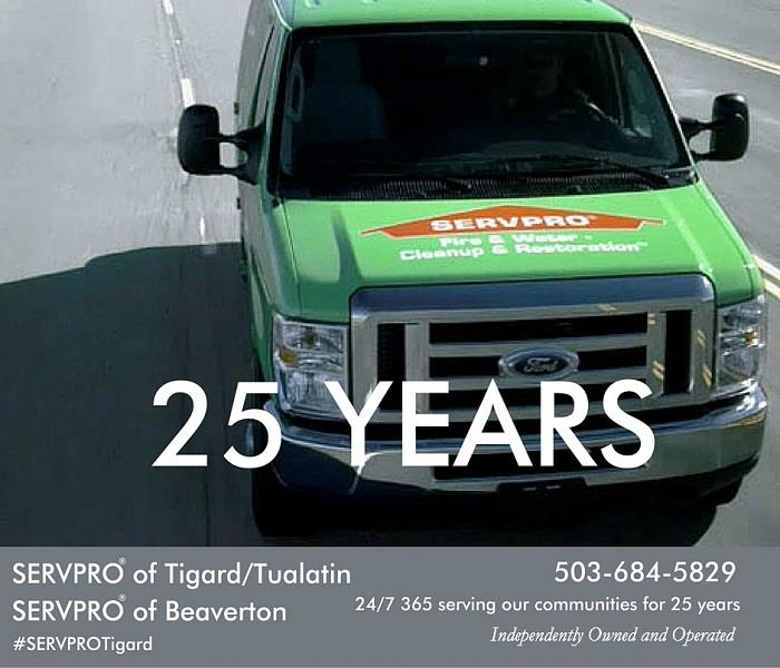 From two stories to twenty, SERVPRO of Tigard/Tualatin is faster to any-sized disaster. 503-684-5829