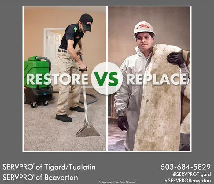 Restore vs. Replace