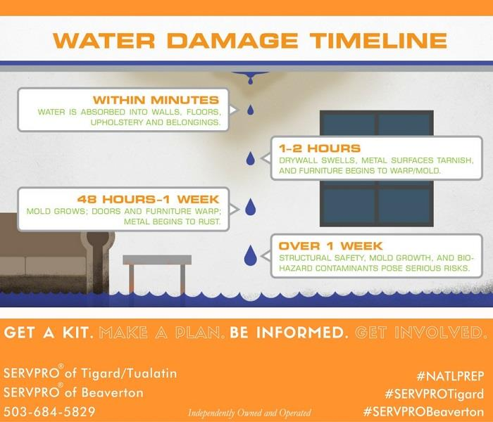 Water Damage Quick response is key
