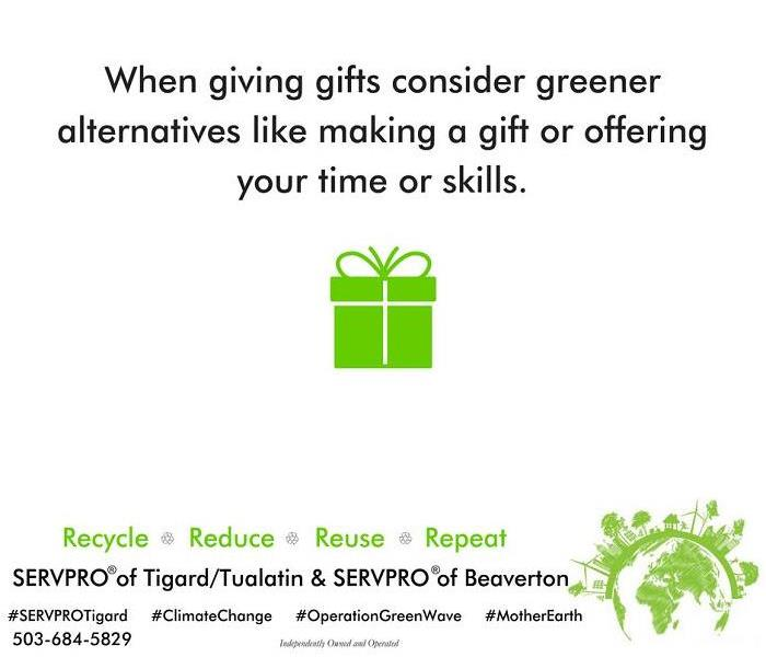 Fire Damage Give Greener Gifts