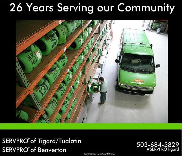 Commercial 25 plus years of service