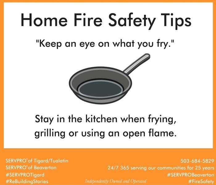 Fire Damage Home Fire Safety Tips # 1