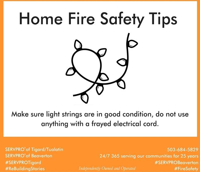 Fire Damage Home Fire Safety Tip # 11