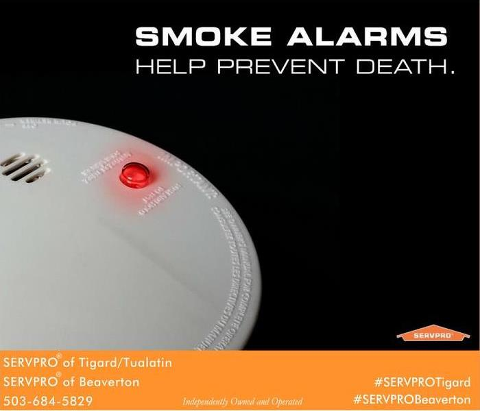 Fire Damage Safety first= smoke detectors