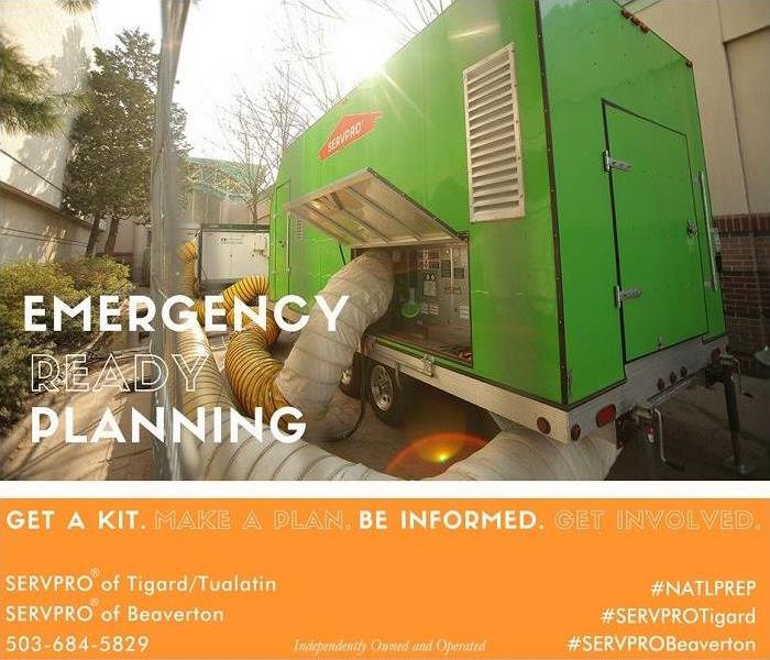Storm Damage Emergency Response from SERVPRO® of Tigard/Tualatin