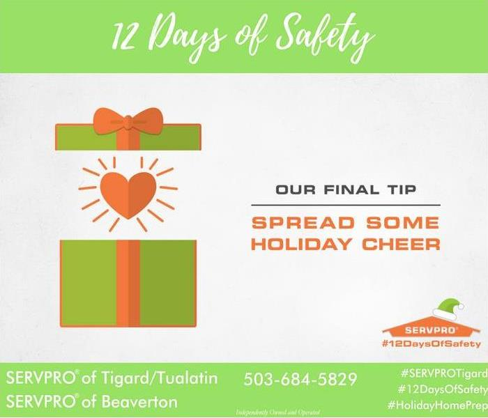 General 12 Days of Safety, Day 12 Give love