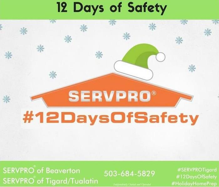 Water Damage 12 Days of Safety