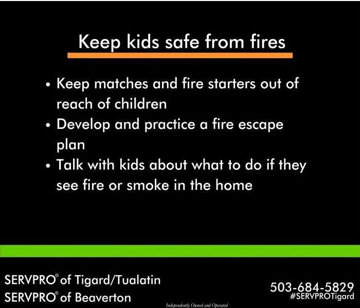 Fire Damage How to help loved ones stay safe
