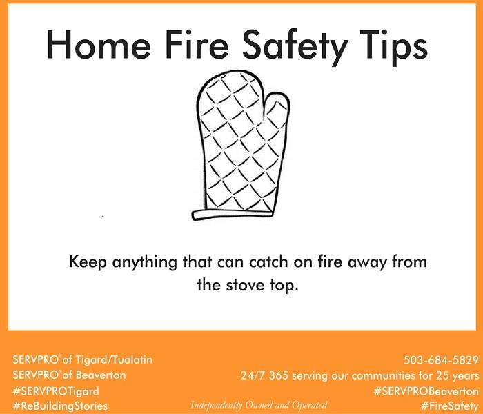 Fire Damage Home Fire Safety Tip # 12