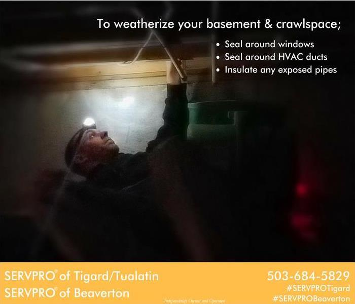 Storm Damage How to weatherize your basement and crawlspaces