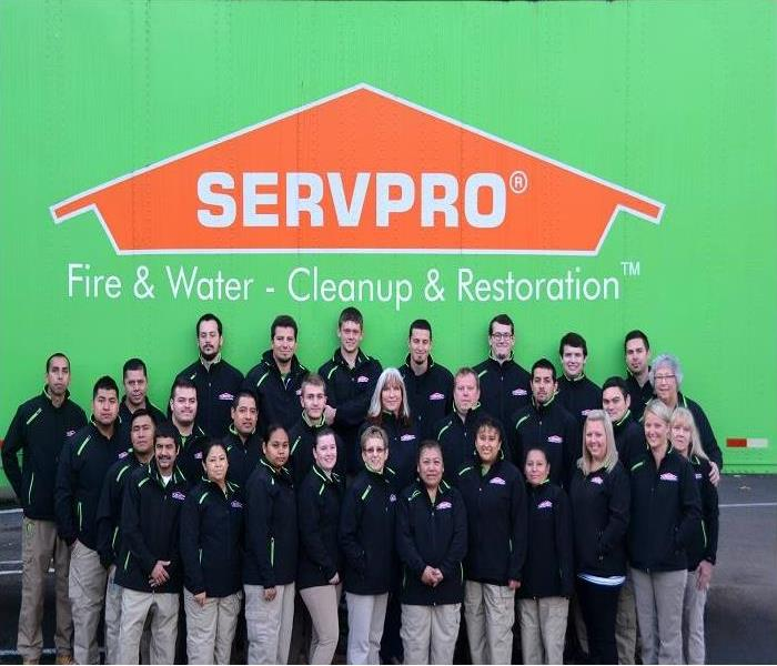 Water Damage The four departments of SERVPRO® of Tigard/Tualatin