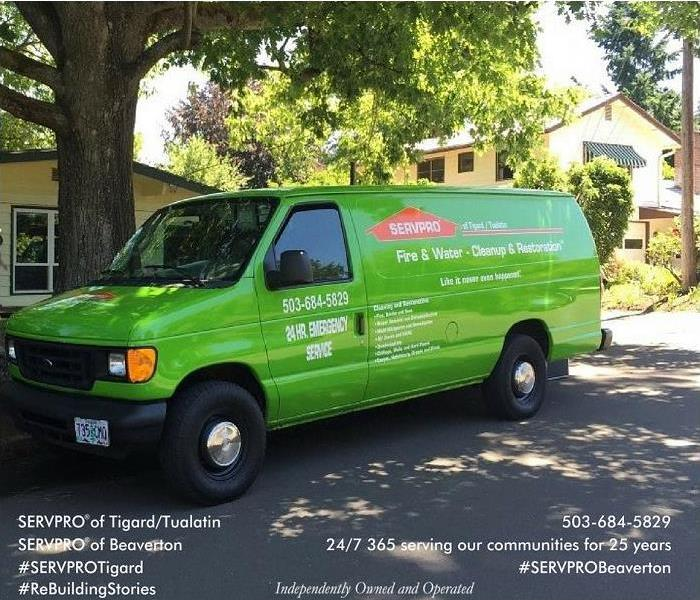 Storm Damage Call the cleanup team at SERVPRO® of Tigard/Tualatin