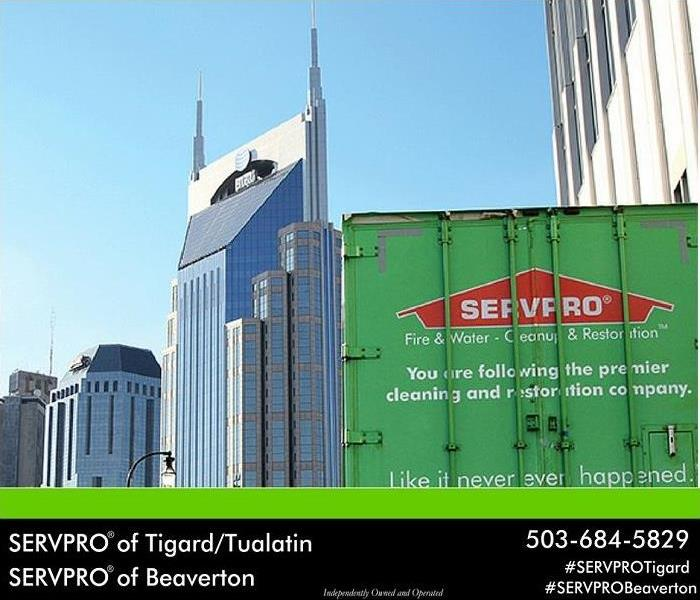 Commercial SERVPRO of Tigard/Tualatin will get you back to business