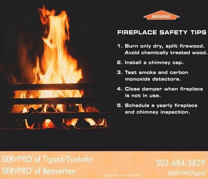 Storm Damage Safety tips for fireplaces in homes