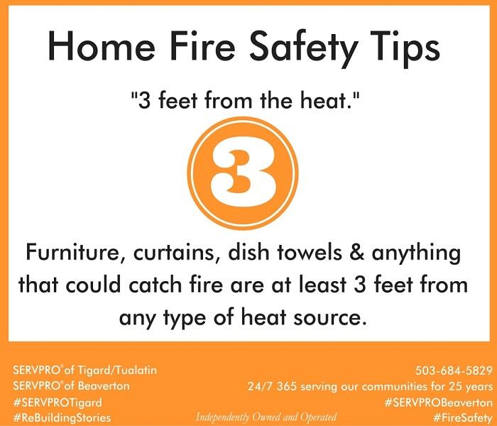 Fire Damage Home Fire Safety Tips # 2